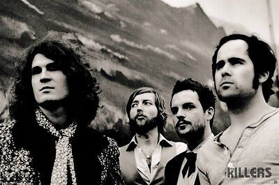 THE KILLERS ~ GROUP MOUNTAIN ~ 24x36 MUSIC POSTER Brandon Flowers NEW/ROLLED!