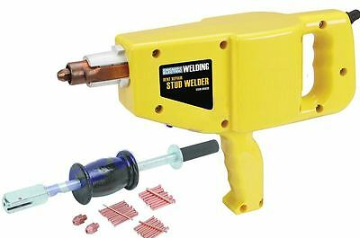 Auto Body Repair Kit Stud Gun Welder Dent Ding Repair With 2 Lb Hammer Puller