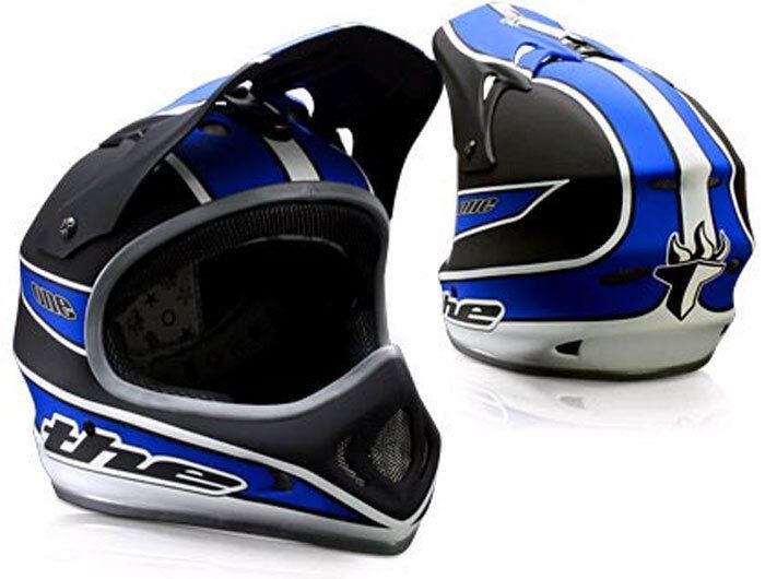 THE One Composite BMX Helm, blau, Größe M