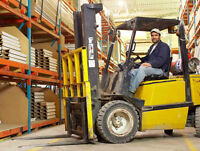 forklift/reach op LOOKING for work