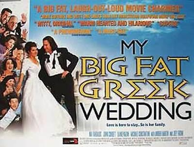 My Big Grasa Griego Boda Original Cartel de Película