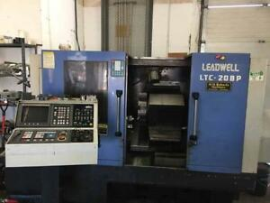 Leadwell LTC-20BP CNC Turning Center