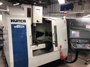 Hurco VMX-24 CNC Vertical Machining Center, Made in Taiwan