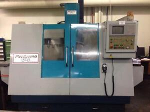 AKIRA SEIKI PERFORMA V-4  CNC VERTICAL MACHINING CENTER