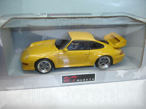 ut models porsche 911 gt2 1997 yellow 1 18 ebay. Black Bedroom Furniture Sets. Home Design Ideas