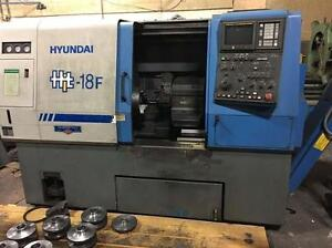 Hyundai HiT 18F CNC Turning Center