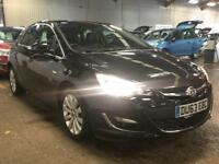 2013 Vauxhall Astra 1.6 i VVT 16v Elite 5dr Petrol black Manual