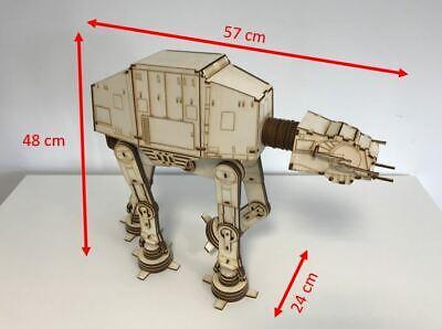Star Wars AT-AT Walker aus Holz als Bausatz Standmodell Holzmodell