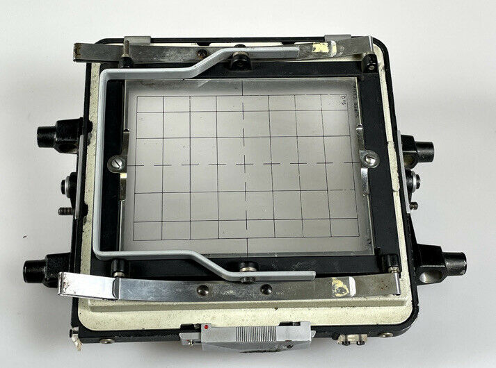 Super Cambo Camera 4x5 9x12 Ground Glass And Back