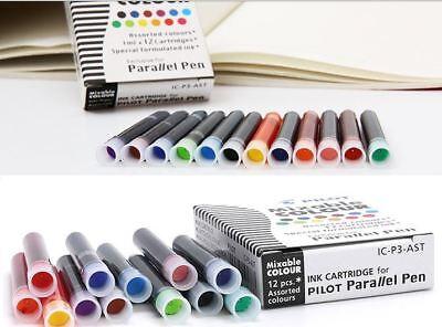 Big SALE!!  Pilot Ink Cartridge for Parallel Pen - Assorted color x 24 boxes  - Big Boxes For Sale