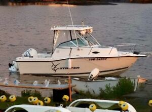 21ft Striper Boat