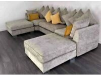 50% OFF ON Beautiful USHAPE SOFA 😍 AVAILABLE IN STOCK 💫💯 DELIVERY AVAILABLE 🚛