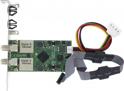 DuoFlex S2 V4 TV Card (Solo), Low and Full Profil (H) Bracket