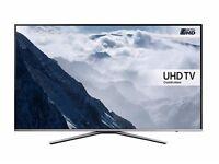 "Samsung UE40KU6400U LED 4K Ultra HD Smart TV, 40"" with Freeview HD/Freesat HD and Built-In Wi-Fi"