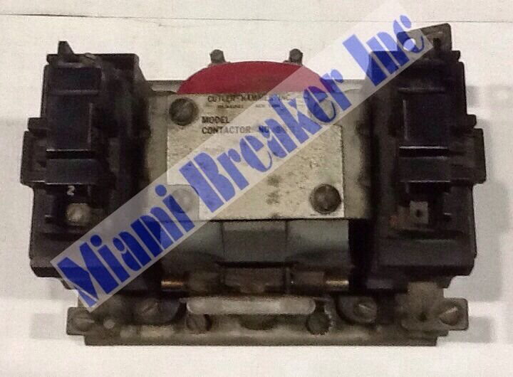 Cutler Hammer No.990 Model Contactor 120V 100A