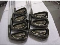 Clevland GC16 pearl black golf clubs 4-pw