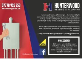 Hunterwood Heating & Plumbing COVID-19 measures in place