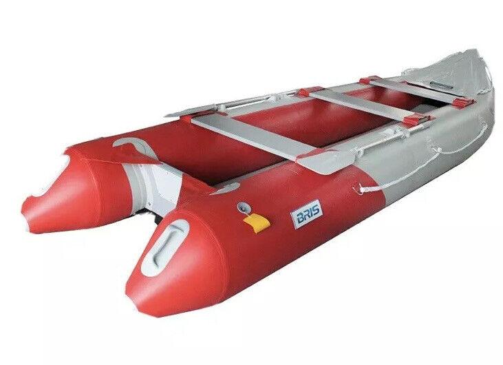BRIS 14.1Ft Inflatable Kayak Fishing Tender Inflatable  Poonton Canoe Boats