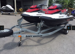 PARTNER UP with a pair of 2011 Sea-Doo GTX 155