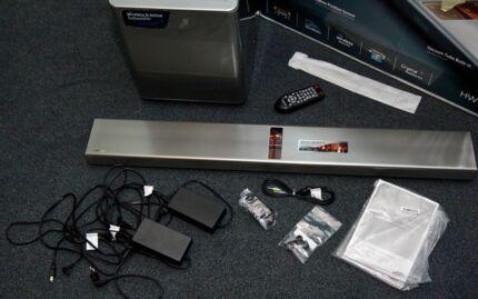 Samsung 310 Watts Series 7 Soundbar & Wireless Active Subwoofer