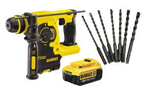 Dewalt DCH253N 18V XR SDS+ Hammer DCH253 + 7 SDS+ drill + 1 DCB182 4.0ah Battery