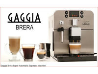 Gaggia Brera Bean to Cup Coffee quality Expresso cappuchinos lattes. As good as new.