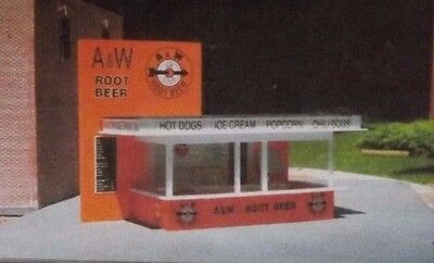 A&W A & W Root Beer Stand HO 1/87 Scale - (A W Root Beer Stand)