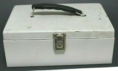 Vintage Cash Box Heavy Duty - 11 X 8 X 4 In