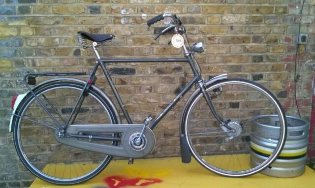Classic Genuine vintage dutch bike Gazelle , 3 speed, rod brakes, size  22in, fully SERVICED | in Islington, London | Gumtree