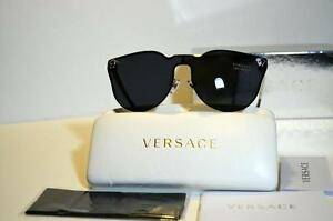 New-Unique-Rimless-Authentic-Versace-Sunglasses-VE2120-100087-VE-2120-Italy