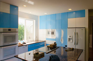 Ikea ABSTRAKT Doors, high gloss for Akurum Cabinets