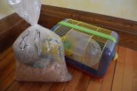 Cage à hamsters / petits animaux - pour enfant
