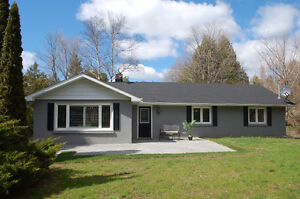 Beautifully Renovated 2+2 Bedroom Bungalow in Stouffville