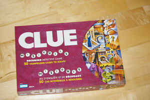 Clue Mysteries, English