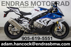 2016 BMW S1000RR - White/Blue/Red
