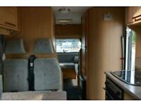 Elddis Sussex FRONTWELL GTM 180 PEUGEOT BOXER 6 BERTH 6 TRAVELLING SEATS