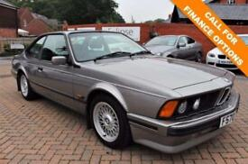 1988 BMW 6 SERIES 3.5 M635CSI 2D 286 BHP FULL SERVICE 28 STAMPS!!!!