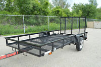 5X10 Mesh Utility Trailer, Old models, Blow Out pricing!!!