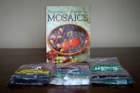 11 Bags of Vitreous Glass Mosaic Tiles and Instruction Book