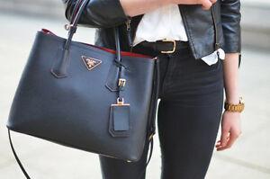 Prada Saffiano Cuir Double Bag (tote)
