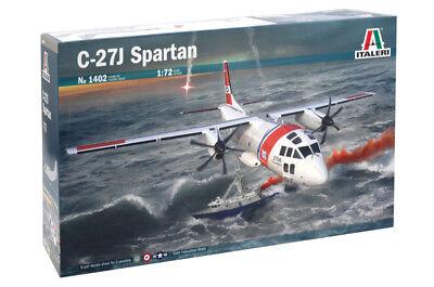 Italeri 1402 - 1/72 US C-27J Spartan - Neu