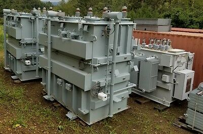 NEW  General Electric PROLEC Substation Transformers  7500 / 9375 KVA