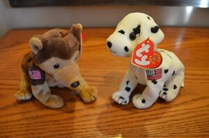 For Sale: Ty Beanie Babies *Retired & Rare* - Set of 13 Dogs 2 Sarnia Sarnia Area image 1