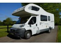 2011 6-berth CI Carioca 656 motorhome for sale with bunk beds