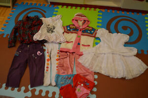 Girl pants, dresses, sweater and more (size: 3 year)