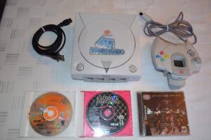 Dreamcast SEGA - Console, manette, jeux