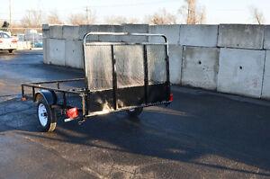 4.5'X10'Mesh Utility Trailer, Perfect for ATV, Household Goods Kitchener / Waterloo Kitchener Area image 4