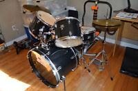 'CB' Drum Set complete with cymbal and hi-hat