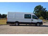 IVECO DAILY 2.3 35S13SV XLWB High Roof 6 Seat Factory Crew Van with Air con
