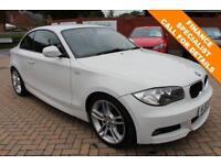 2010 10 BMW 1 SERIES 2.0 123D M SPORT 2D 202 BHP DIESEL